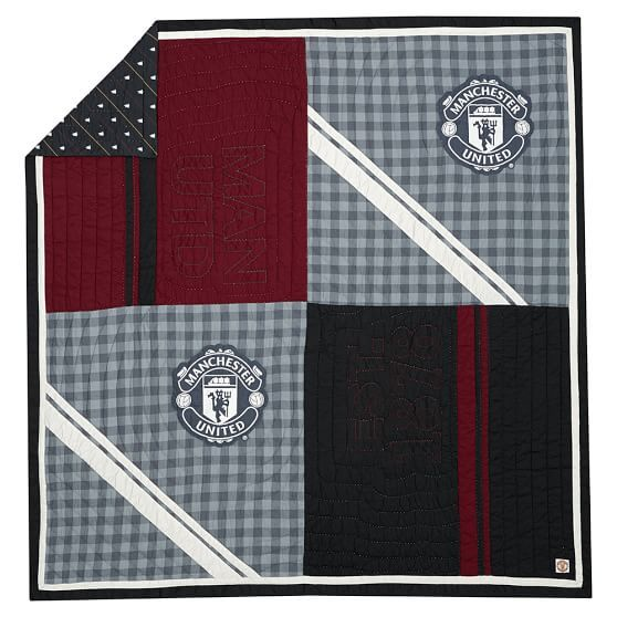 Manchester United Quilt Sham Quilted Sham Quilts The Unit