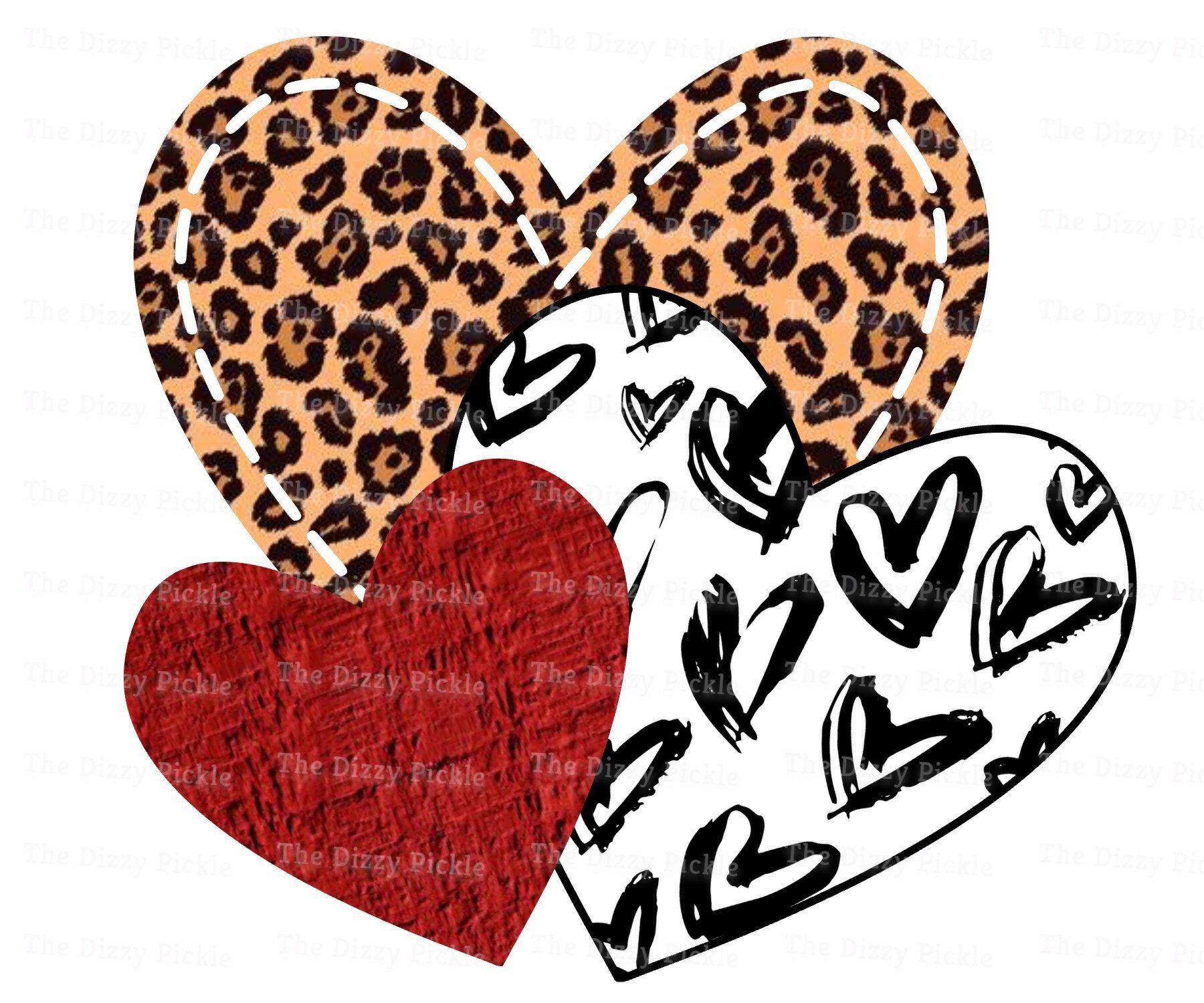 Heart Sublimation Design Hearts Leopard Heart Valentines Etsy In 2021 Shirt Print Design Valentines Design Valentines Shirt