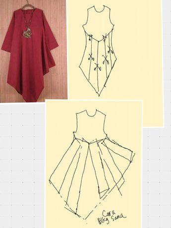 Pola dress kaftan also pin by ayasha moosa on sewing pinterest rh co