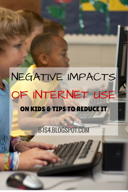 Negative Impacts of Internet Use on Kids & Tips to Reduce It