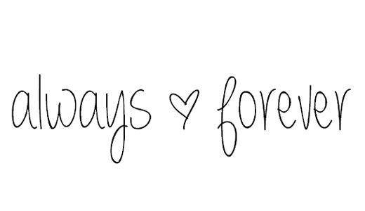 An always & forever kind of love...