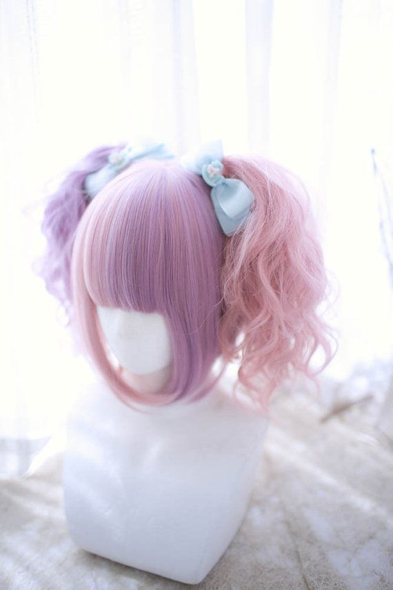 anime-style wigs fanciful