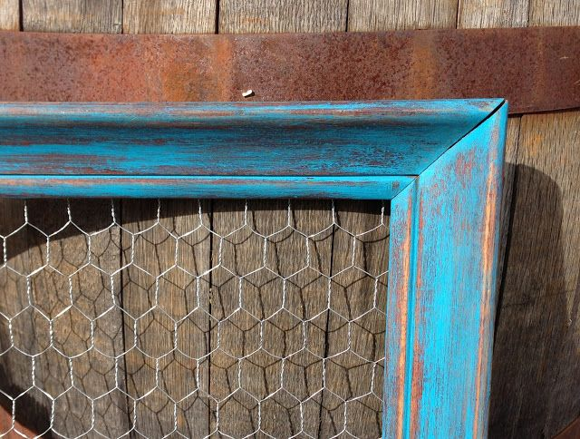 Pots, Pans & Paintbrushes: DIY Chicken Wire Frame | Creative ...