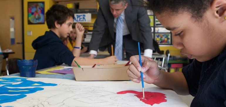 Implementing art into the education curriculum has been