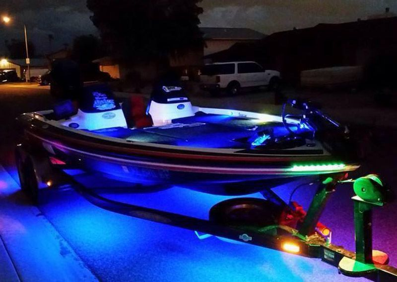 Blue Water Led Customer Showcase General Led Boat Lights Blue Water Boat Lights
