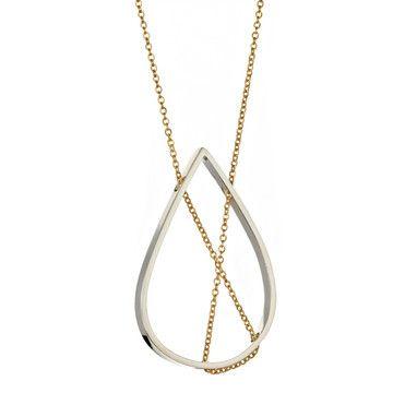 Vanessa Gade: Petal Necklace Silver