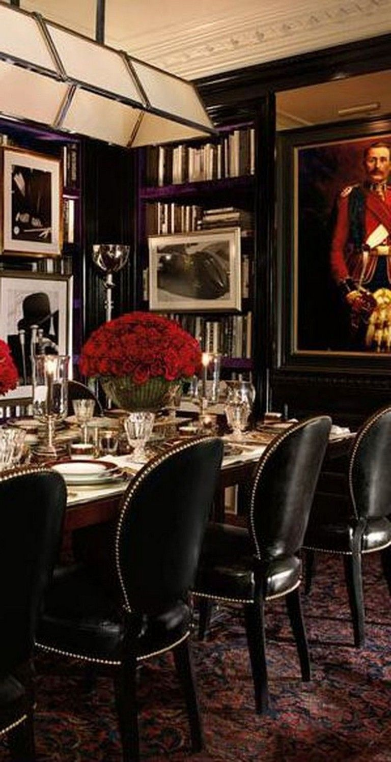 30 Luxury And Masculine Dining Room Design Ideas