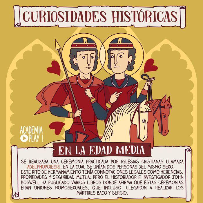 ¿Sabías que en la Edad Media ya existían matrimonios civiles entre personas del mismo sexo?