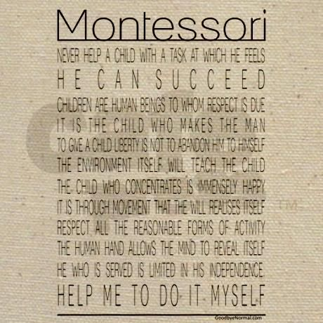 "montessori help me to help myself By guzel zarbeeva, ufa-уфа (russia) the montessori method or ""help me to do  it by myself"" nowadays the montessori method is becoming to be more and."