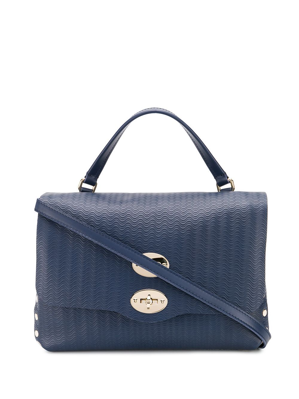 Zanellato wave-effect Tote - Farfetch
