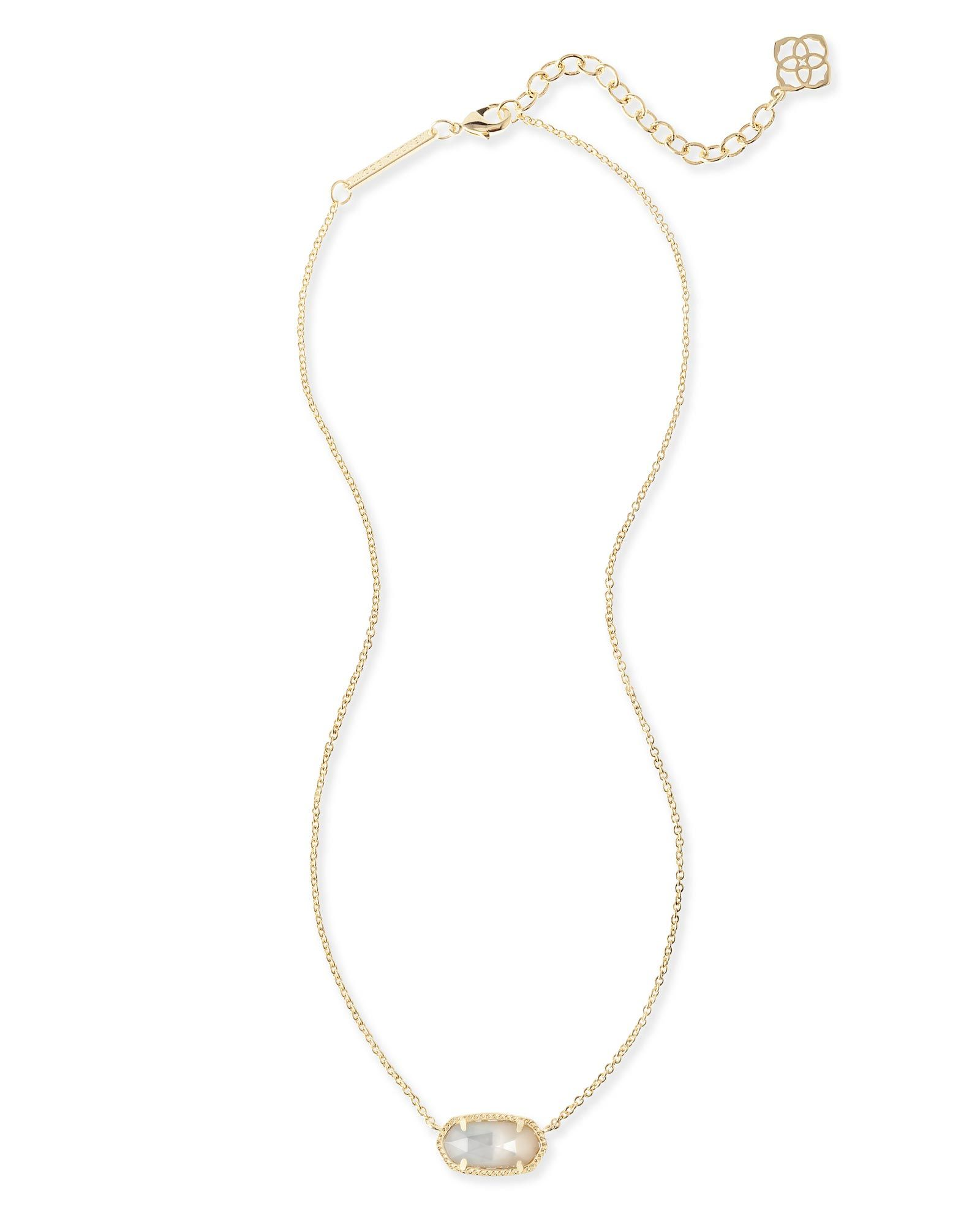 59d4971cc7a0d Elisa Pendant Necklace In Ivory Pearl - Kendra Scott Jewelry ...