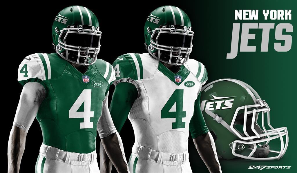 Uniforms Football Every Nfl Jerseys Helmets Team Redesign Uniforms For 247sports Uniform