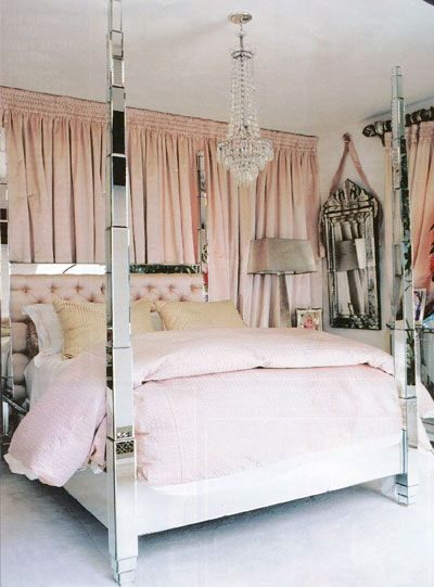 The Worldu0027s Top 10 Amazing Mirrored Beds This beautiful DECO design is an iteration of the infamous Prism Mirrored Four Poster bed - a style we have been ... & Parisian Bedroom Decor | Drama in Paris Hiltonu0027s