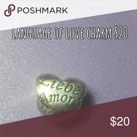 pandora love charm in different languages