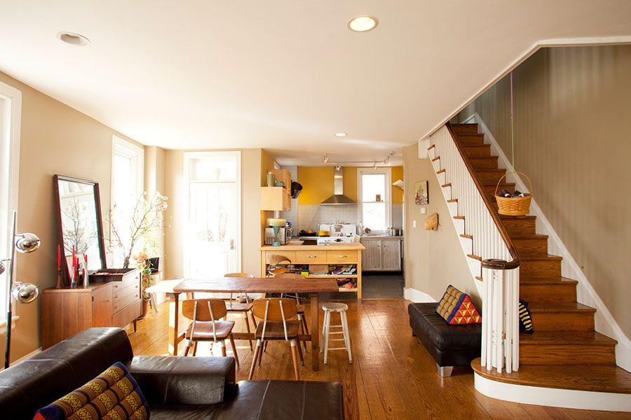Philadelphia Row Homes Interior Design Of A Block Of Row Homes