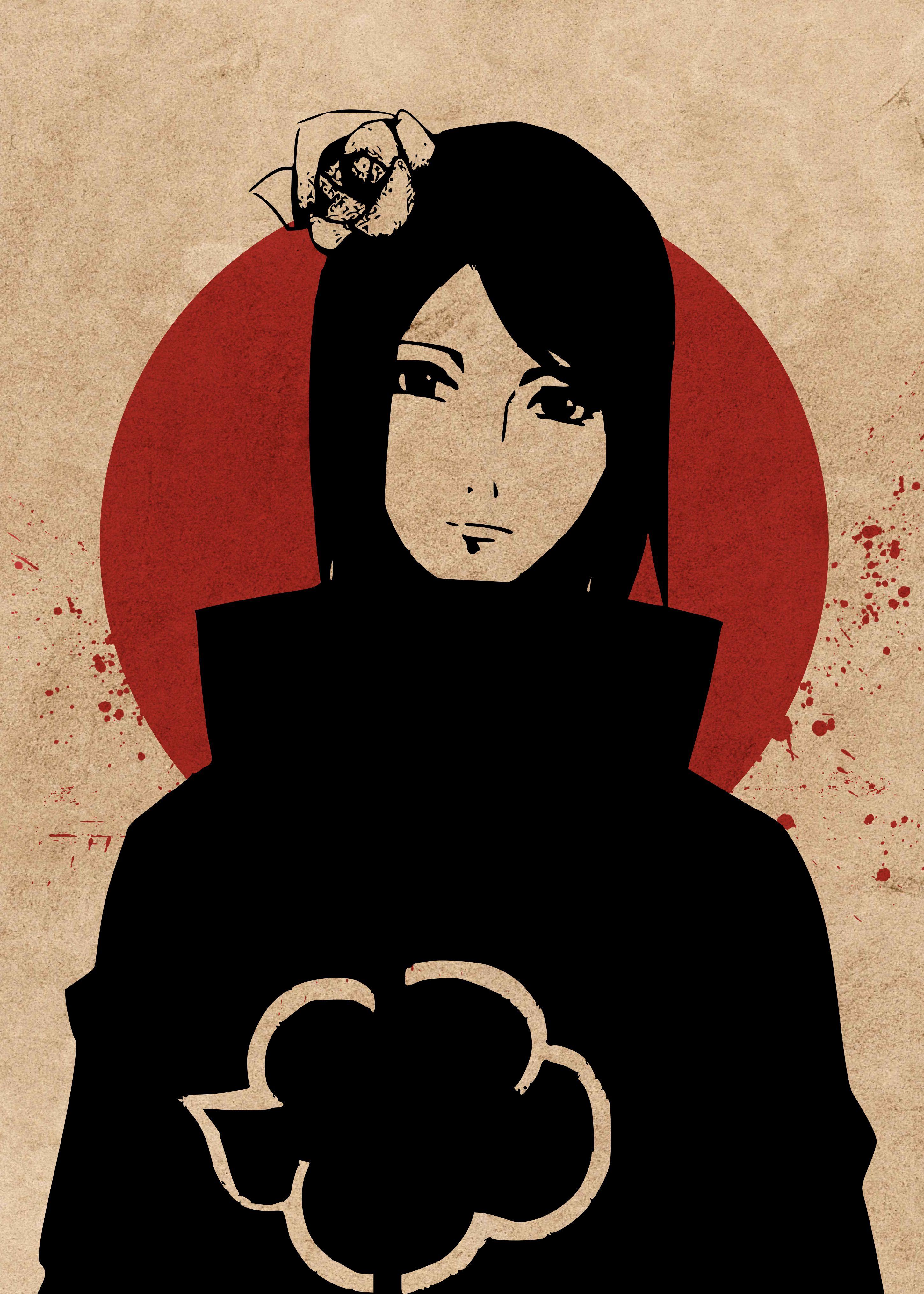 Konan Naruto Anime Konan Konan Naruto Konan Naruto Art