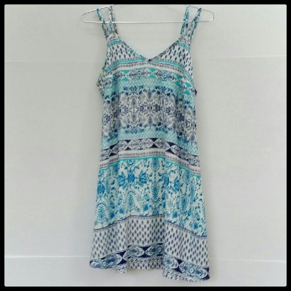 Lorimer Sundress Loose fitting sundress. 100% Rayon. Great condition. Lorimer  Dresses Mini
