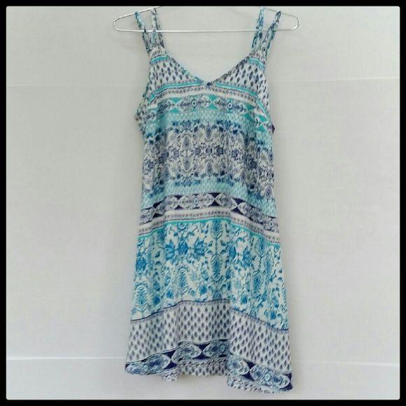 Lorimer Sundress Loose fitting sundress. 100% Rayon. Great condition. Lorimer  Dresses Mini