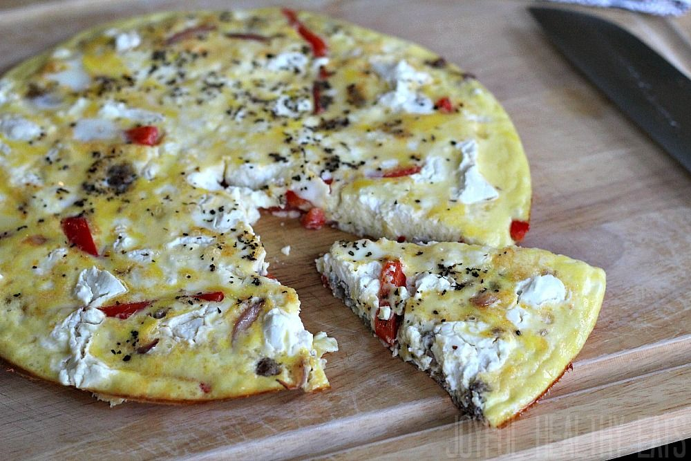 Sausage Pepper Onion Frittata The Best Breakfast Frittata Recipe Recipe Stuffed Peppers Onion Frittata Frittata Recipes
