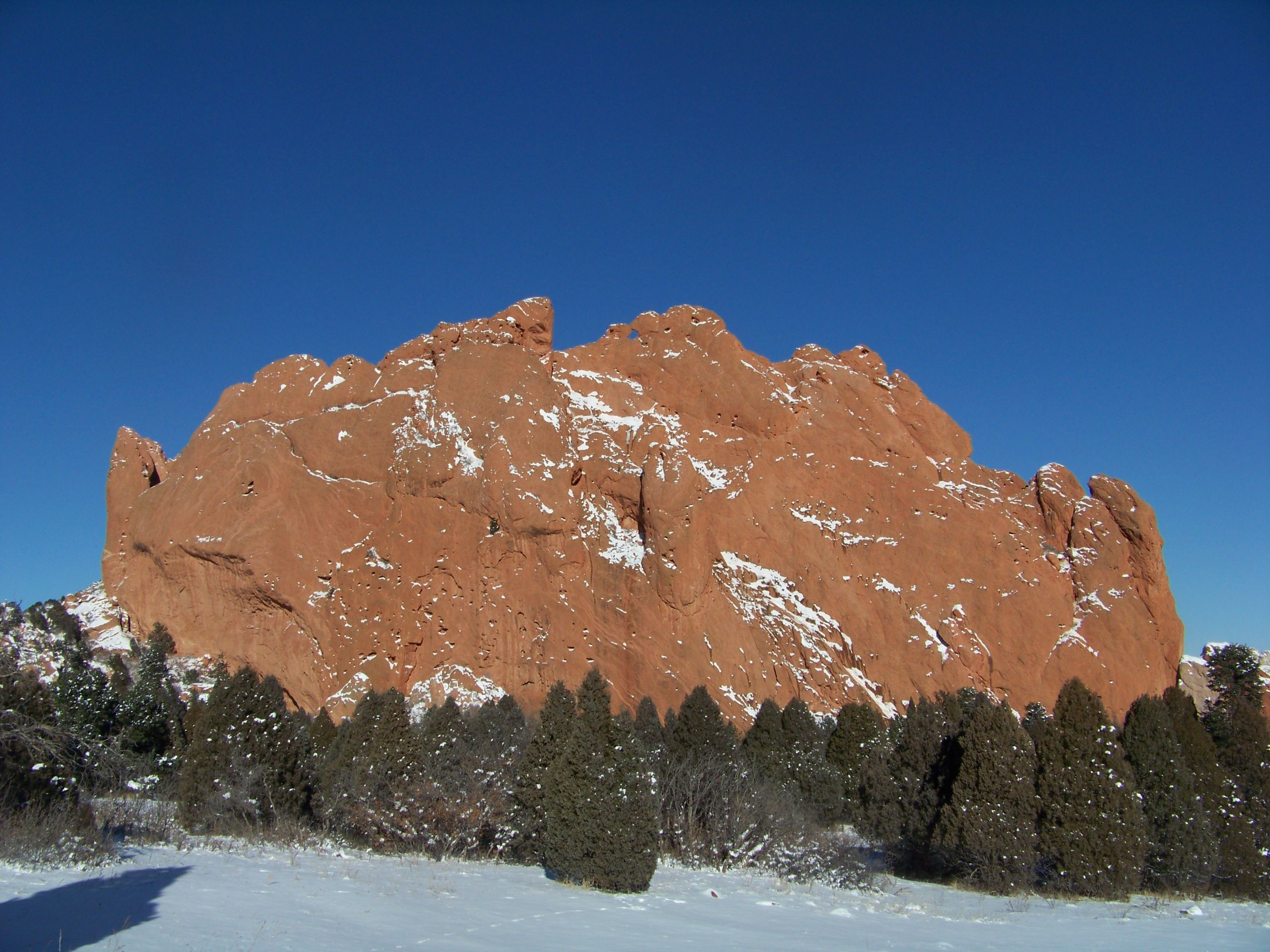Kissing Camels At Garden Of The Gods In Colorado Springs Co