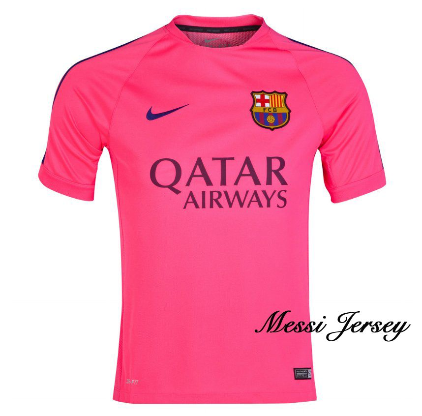 0bf9a969f4a Lionel Messi Authentic Training Soccer Jersey 14/15 Barcelona #10 ...