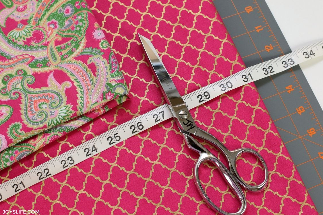 Learn how to make a custom pillowcase!  It's easy!