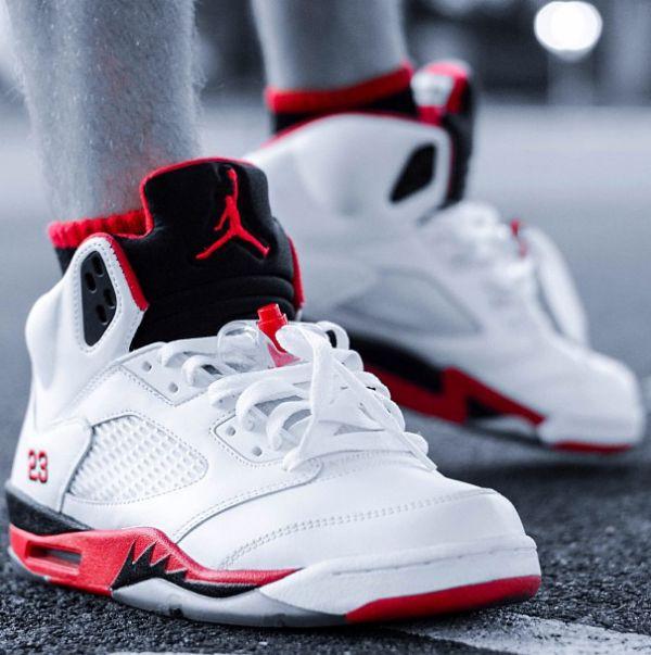 58d77010131 Air-Jordan-5-Fire-Red. Visit http   www