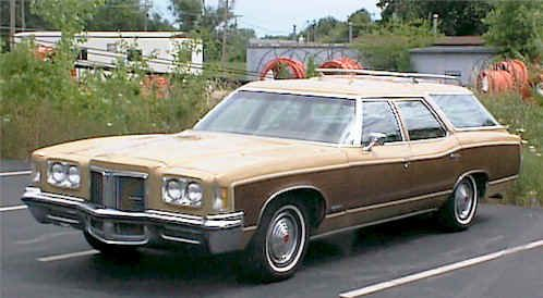 1972 Pontiac Grand Safari Station Wagon
