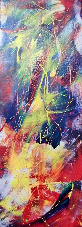 Peinture tableau abstrait qui tude tryptique dyptique for Art moderne abstrait