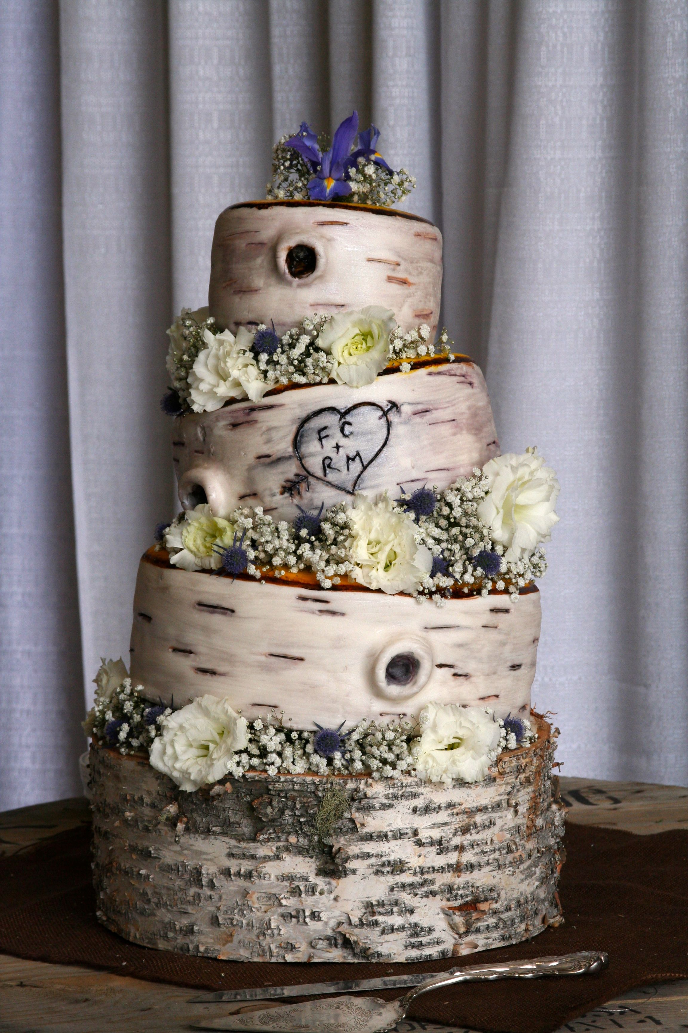 birch tree wedding cakes ardy cakes confections ardy robertson wedding ideas pinterest. Black Bedroom Furniture Sets. Home Design Ideas