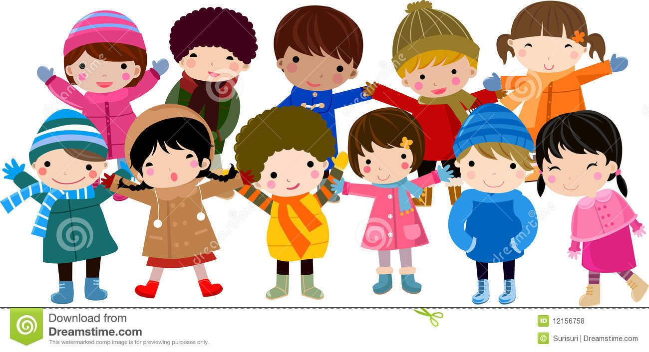 Group Of Happy Children Royalty Free Stock Photos Image