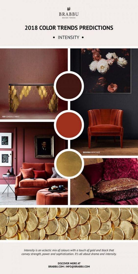 Explore Now the Pantoneu0027s Color Trend Predictions for 2018 u2013 Daily - designer mobel brabbu geschichten