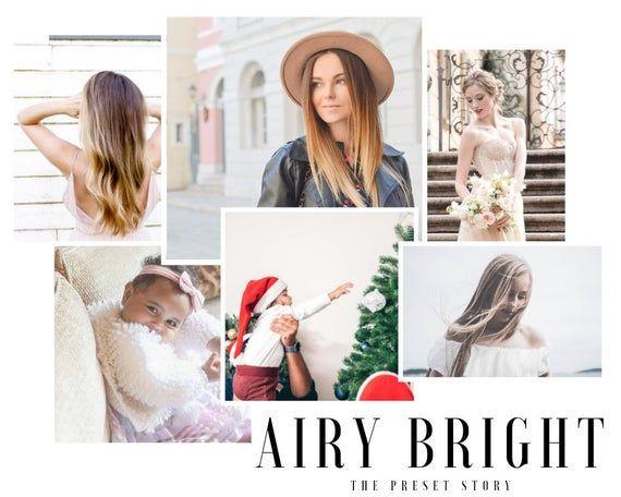 Photo of Ajustes preestablecidos de Lightroom Mobile Airy Bright Para ajustes preestablecidos de blogger y de boda. Presets móviles