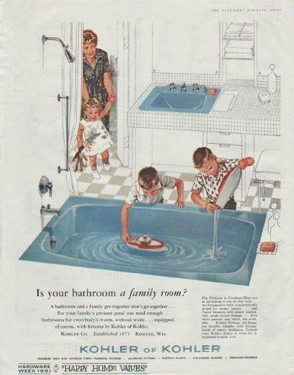 1961 Kohler of Kohler Ad \