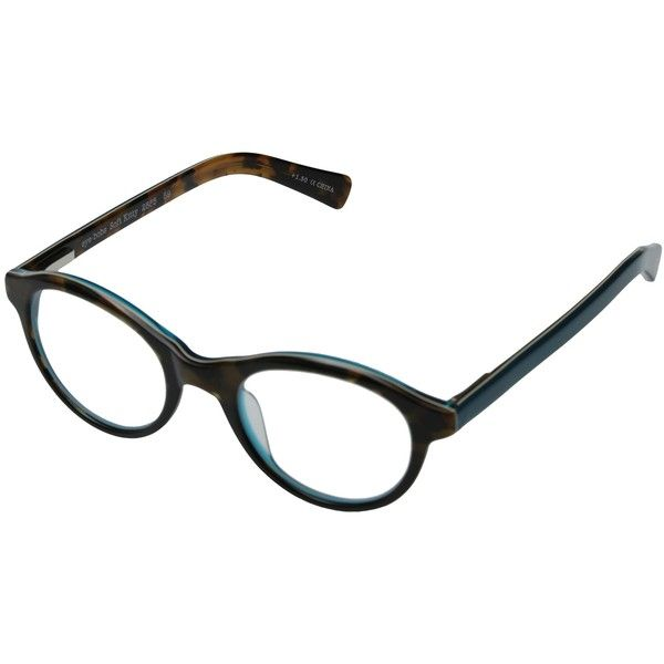 8f37c9a9c3 eyebobs Soft Kitty Readers (Tortoise Teal) Reading Glasses Sunglasses ( 40)  ❤ liked on Polyvore featuring accessories