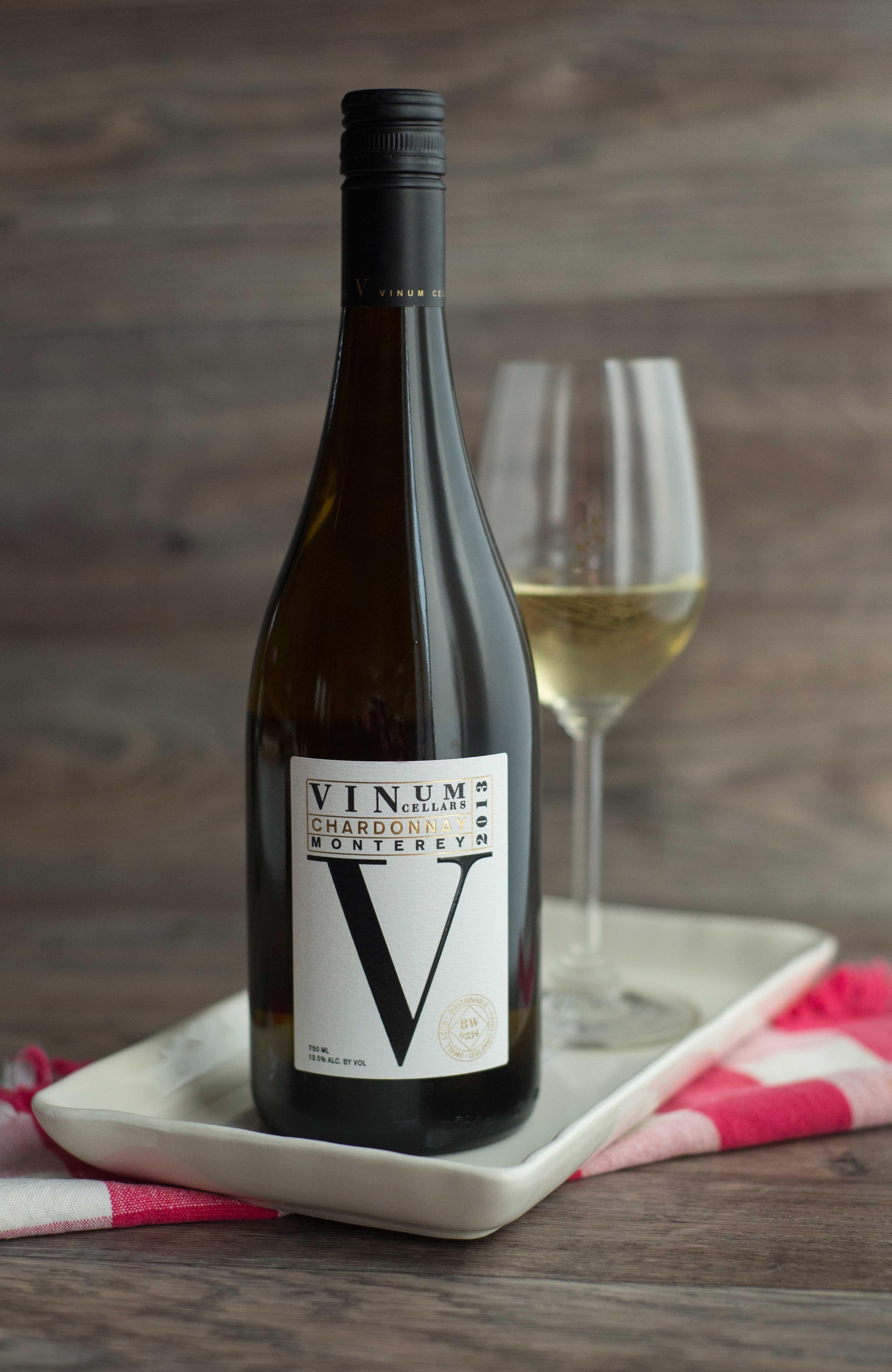 Vinum Cellars V Series Chardonnay This Coastal Chardonnay Is Medium Straw Colored And Has A Tropical Profile W California Wine Vinum Wine Bottle