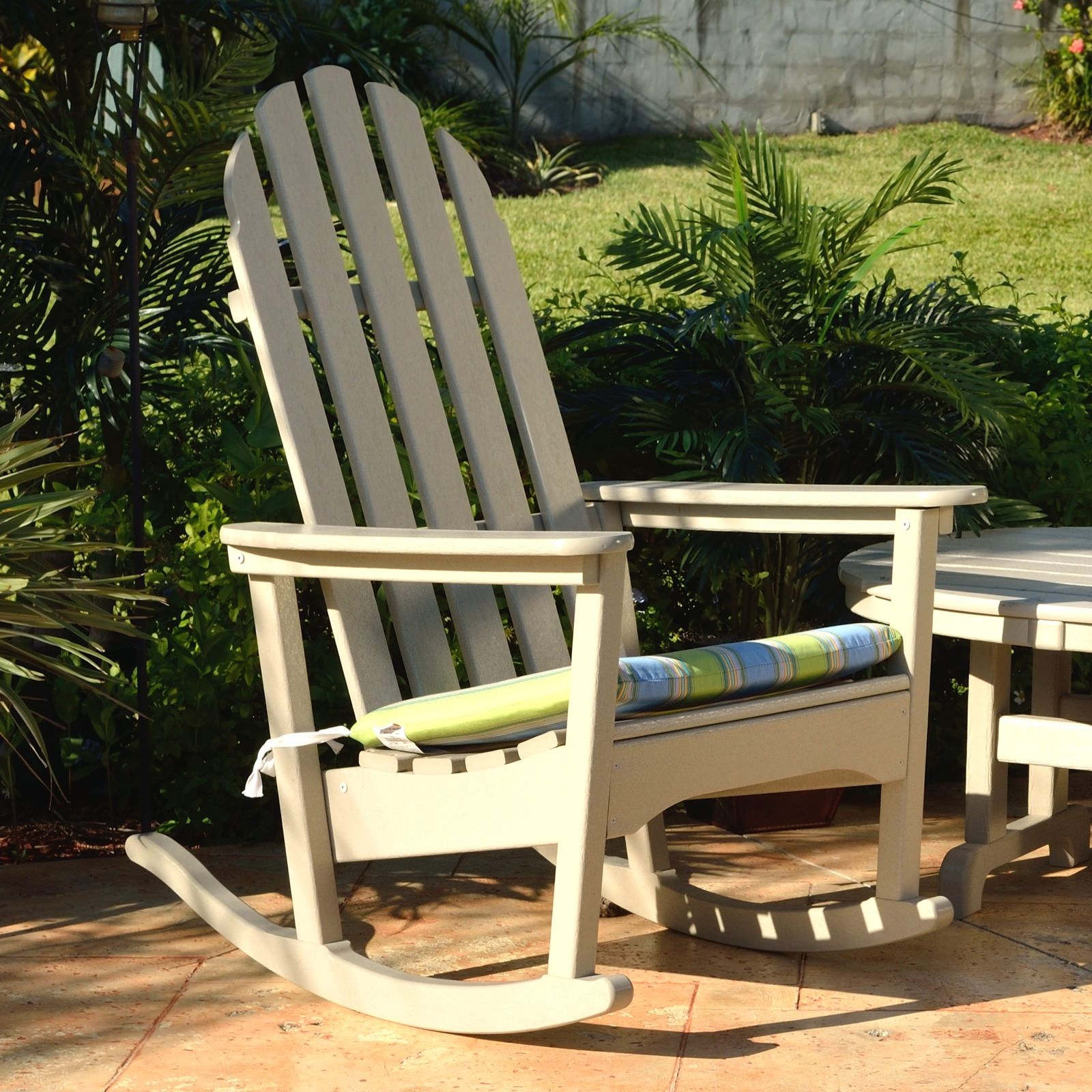 Add a personal touch to your polywood adirondack rocking