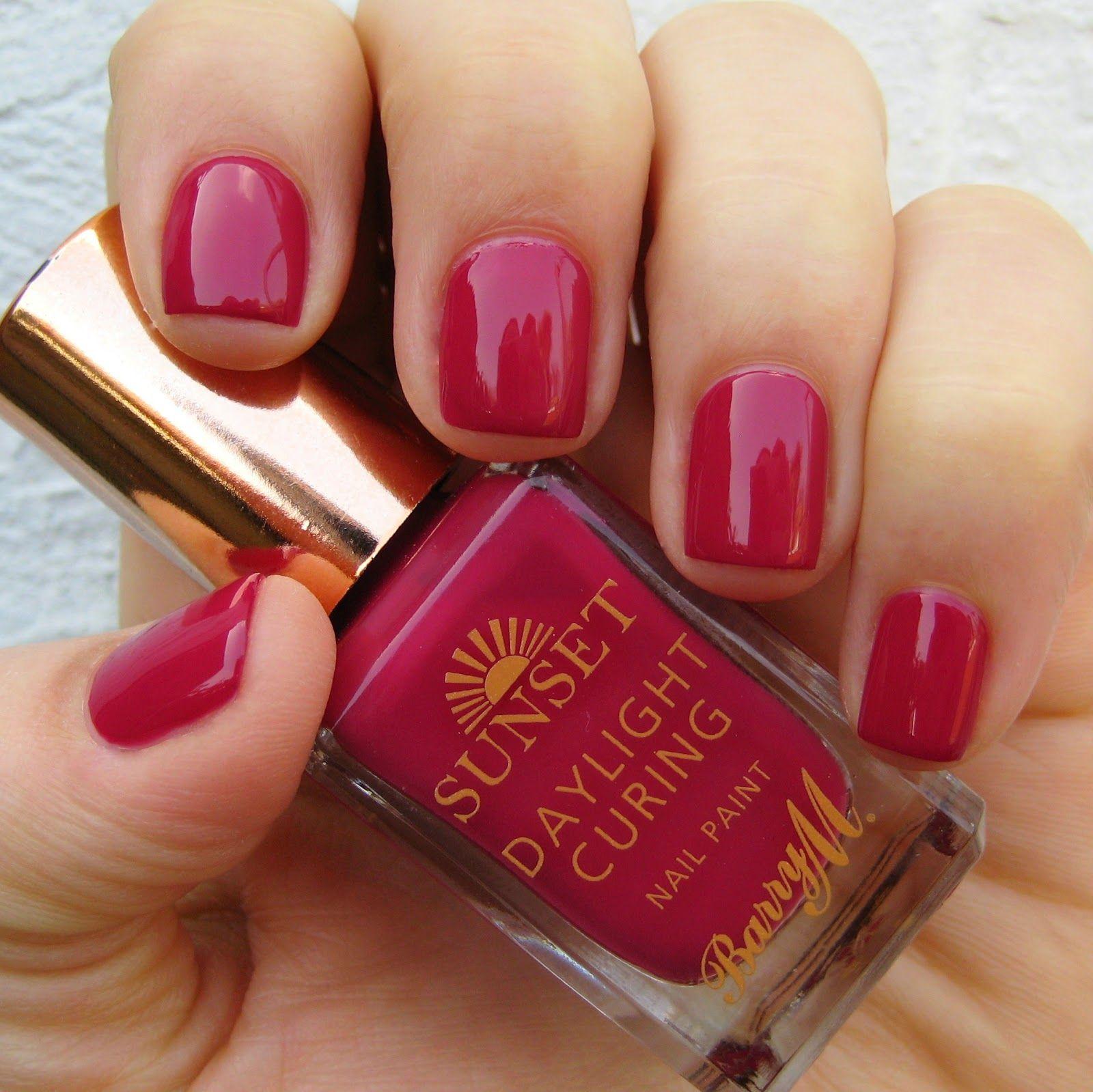 Finger Nail Paint: Barry M: Sunset Nail Paint