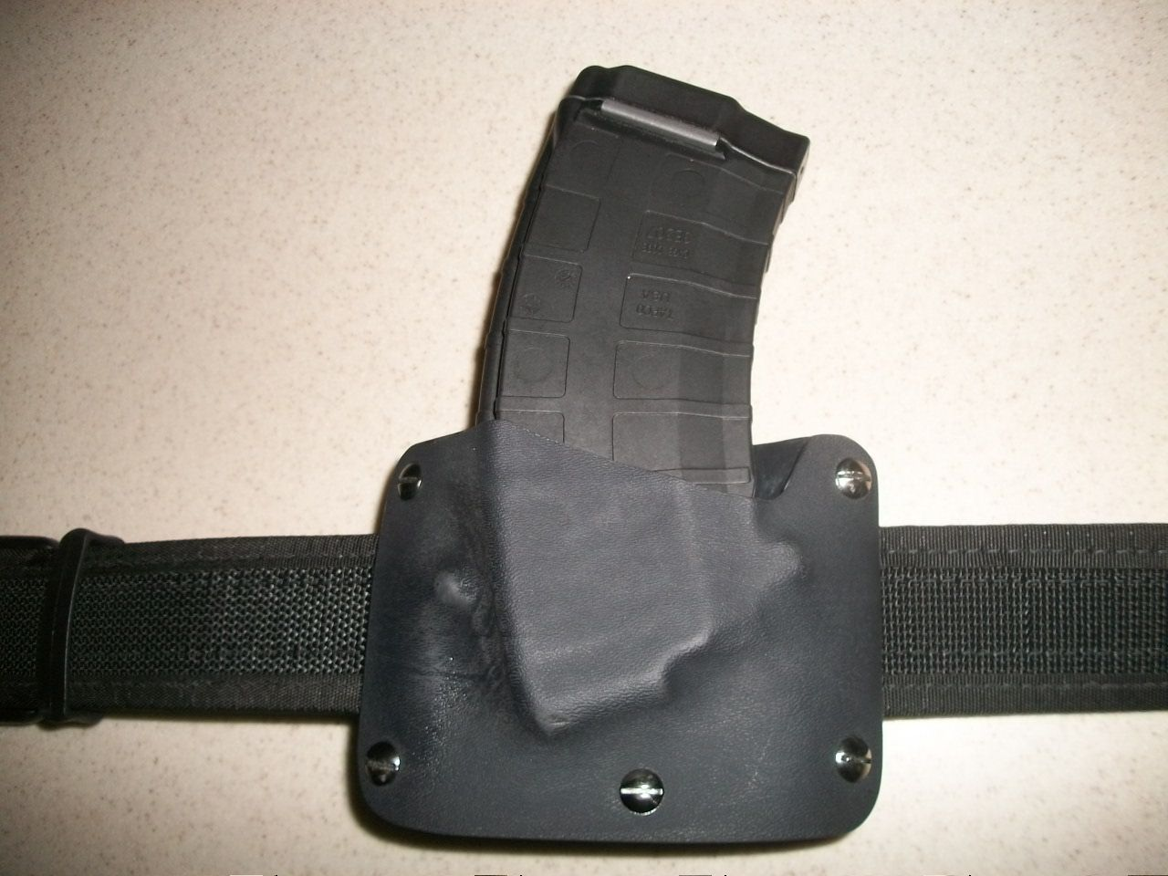 Kydex mag holder for sks mag that has be modified for the ...
