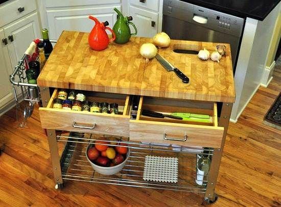 Wunderbar Portable Kitchen Island With Sink Bewegliche Kücheninsel, Kücheninsel Mit  Spüle, Kleine Kücheninseln, Barmöbel