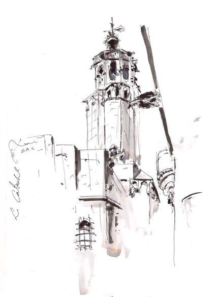 La Catedral (torre), Barcelona. Xavi Julià