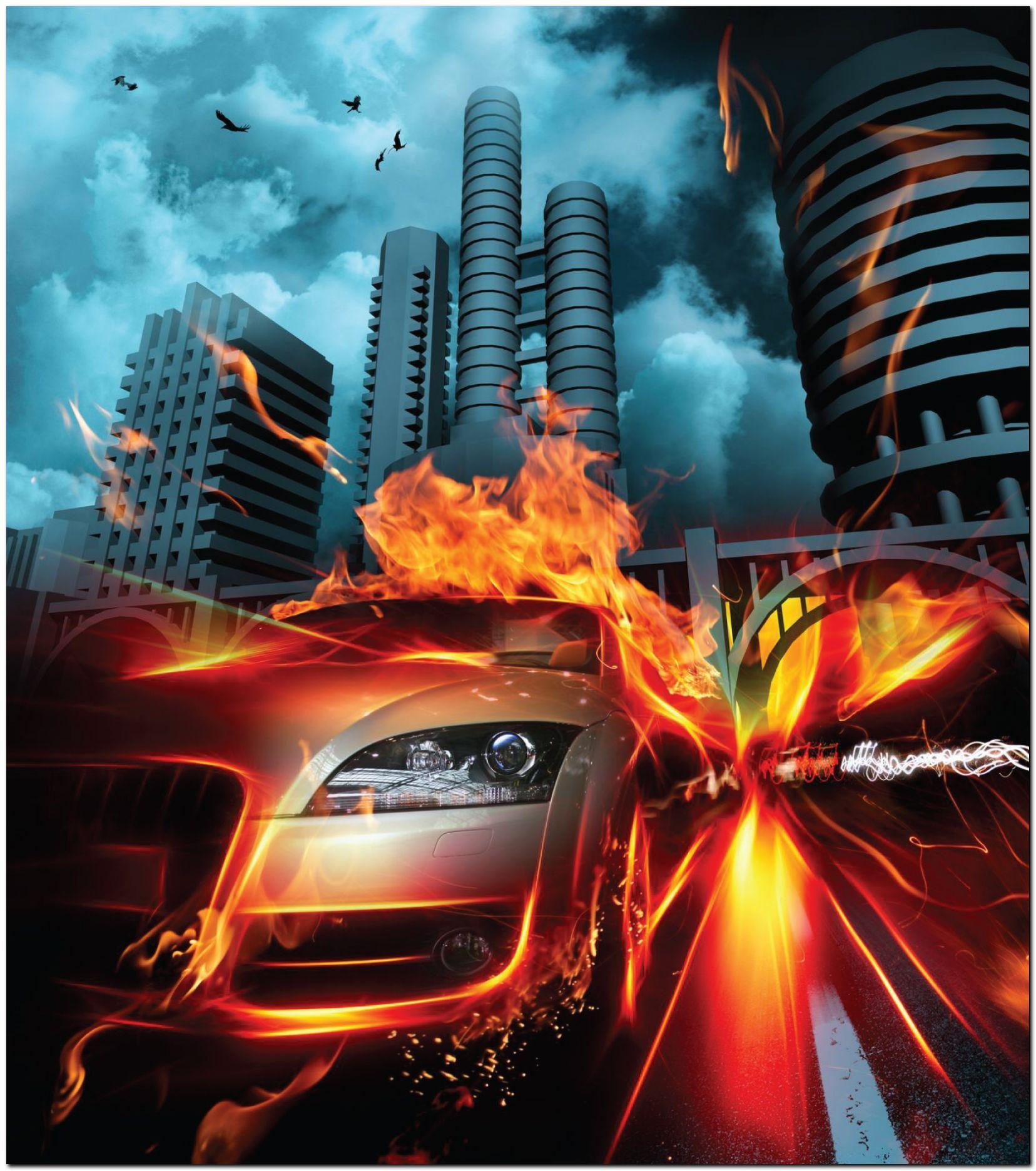 Fridge Fire Speed 2 Fire art,