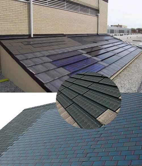 Solar Shingles Exterior Home Energ 237 A Renovable