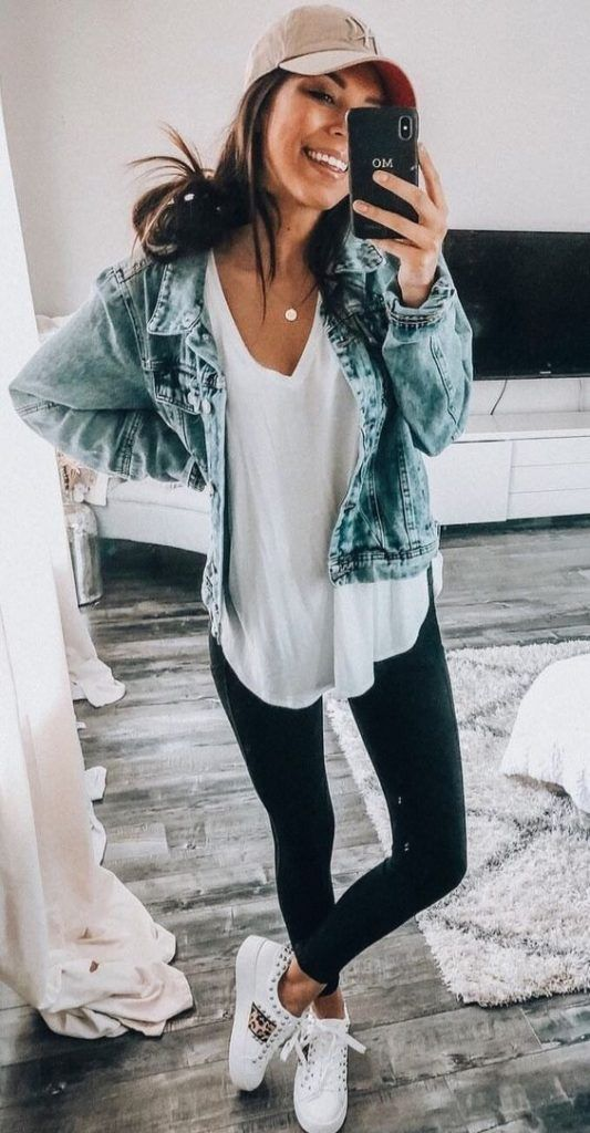 34 Best fall outfits for women #cuteoutfits #womenoutfits #outfitinspo