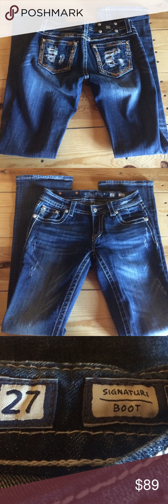 💜miss me jeans brand new 27x34 bootcut pristine condition! Miss Me Jeans Boot Cut