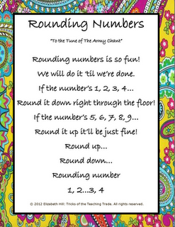 Rounding Numbers Song | Teacher Things | Pinterest