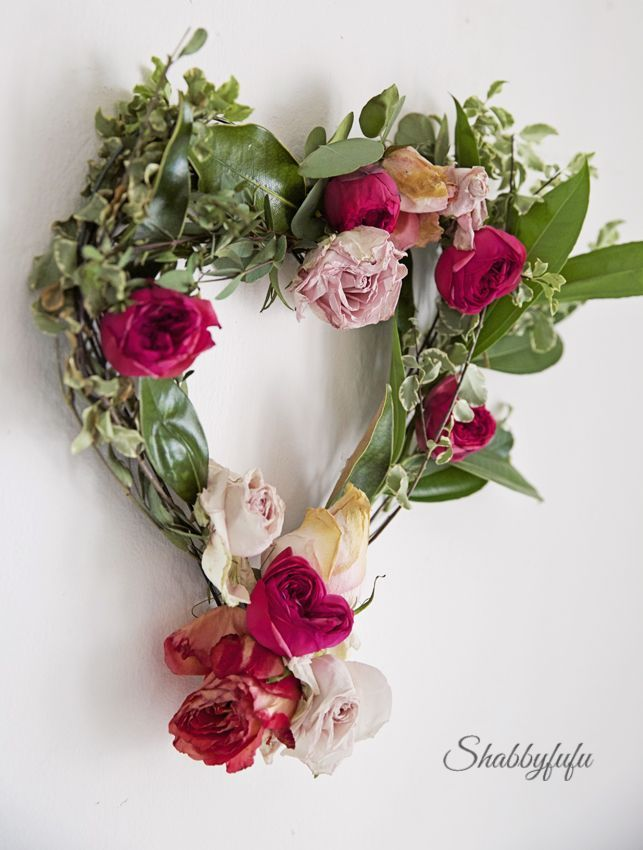 styling a romantic living room for valentine's day | floral wreath, Ideas