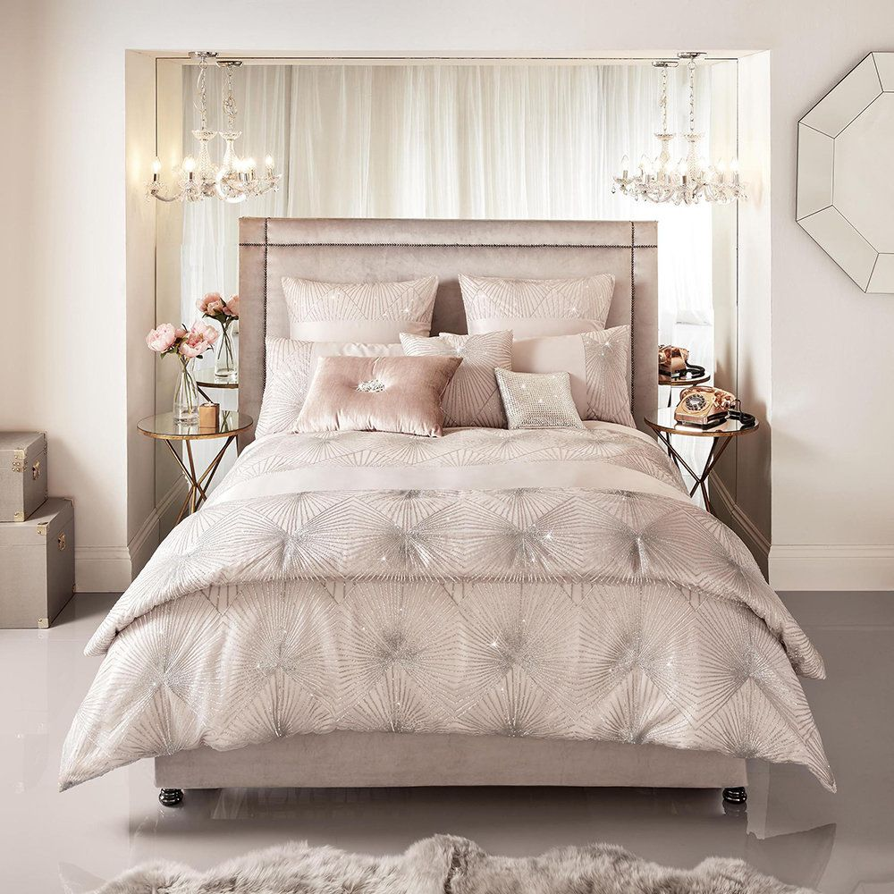 Buy Kylie Minogue at Home Duvet Cover Blush UK