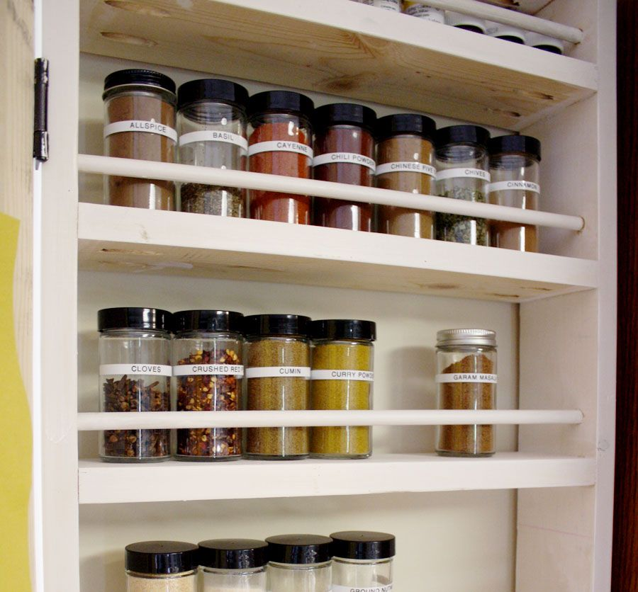 How To Build A DIY Spice Rack Diy spice rack, Woods and House