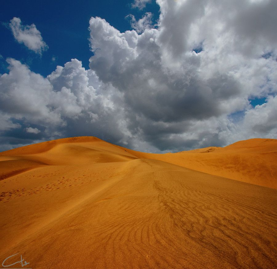 Cloudy day in desert by Abdulaziz Alhamed on 500px